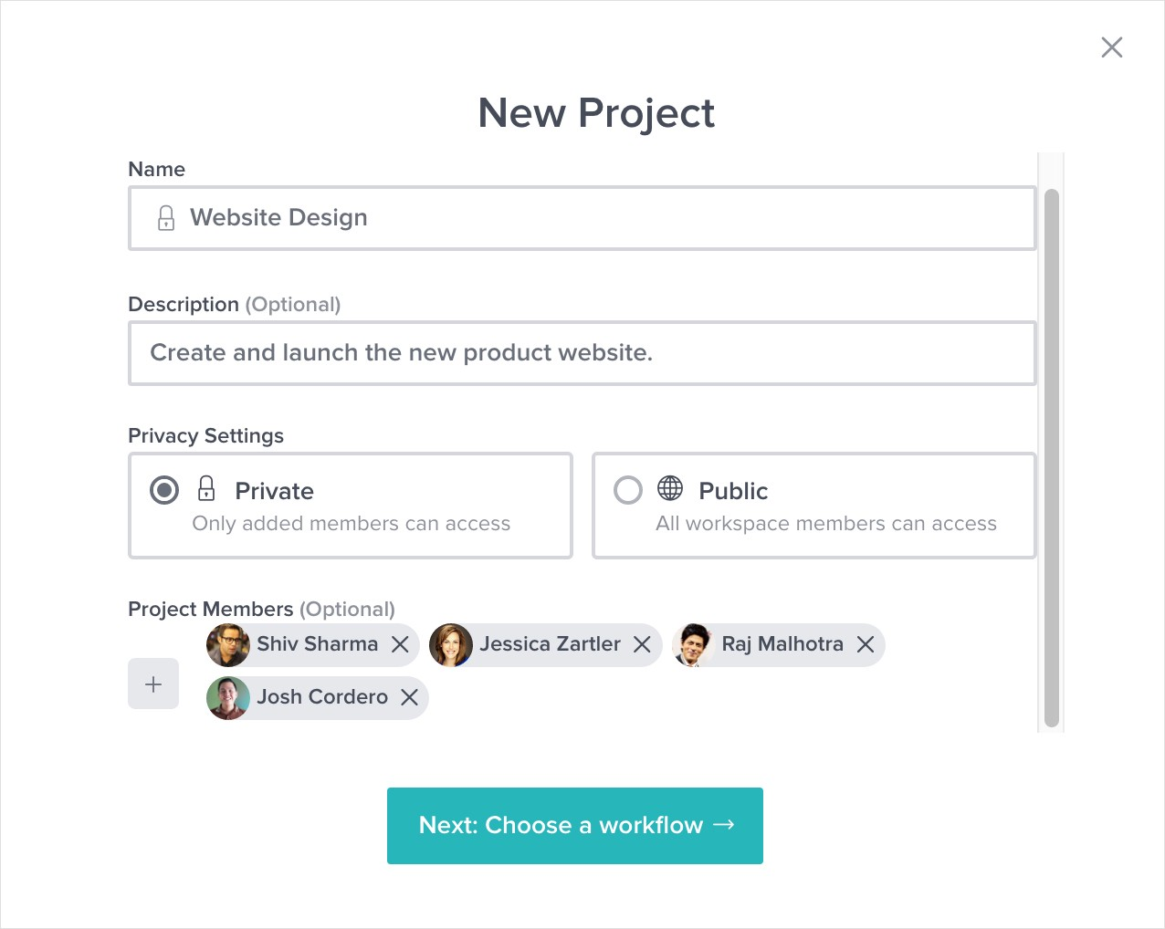 Effortless Workflows with Project Templates